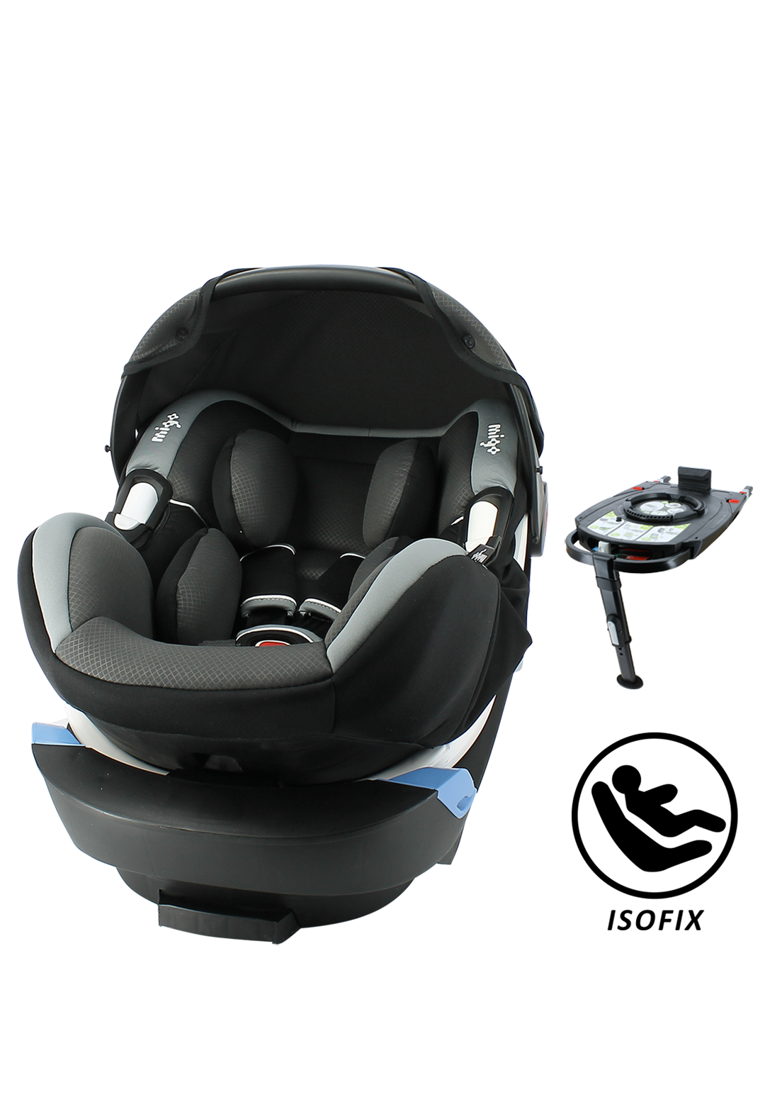 Satellite Isofix Premium - Black