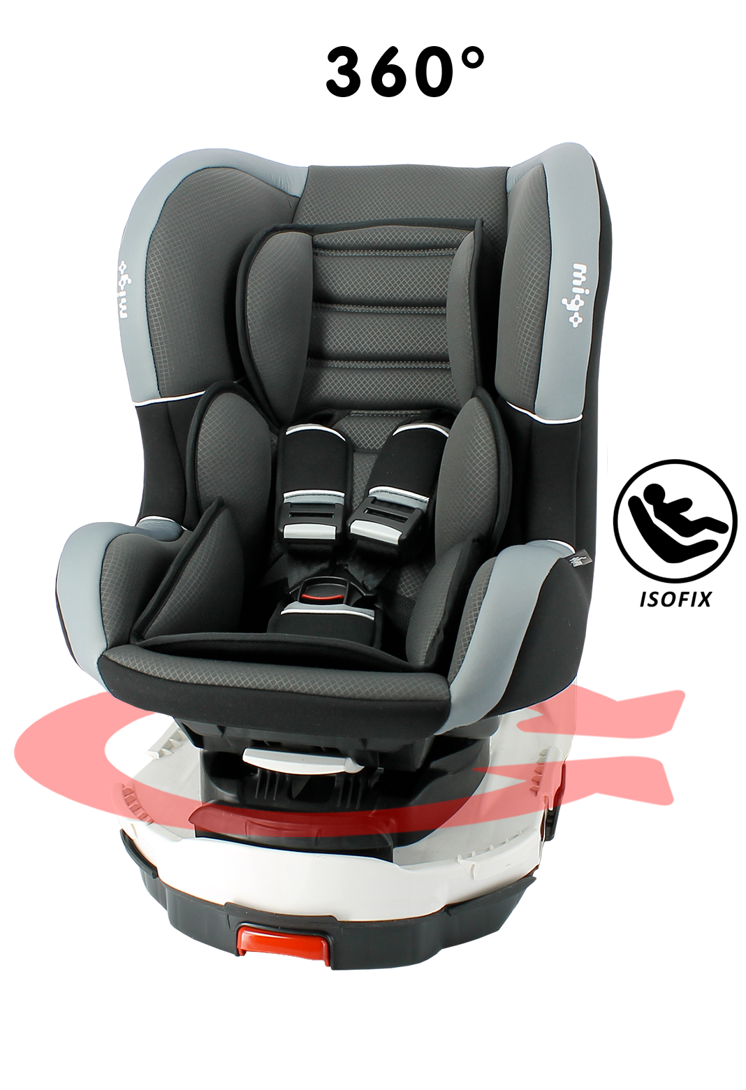 si ge auto pivotant isofix titan grp 0 1 neoshop by migo. Black Bedroom Furniture Sets. Home Design Ideas