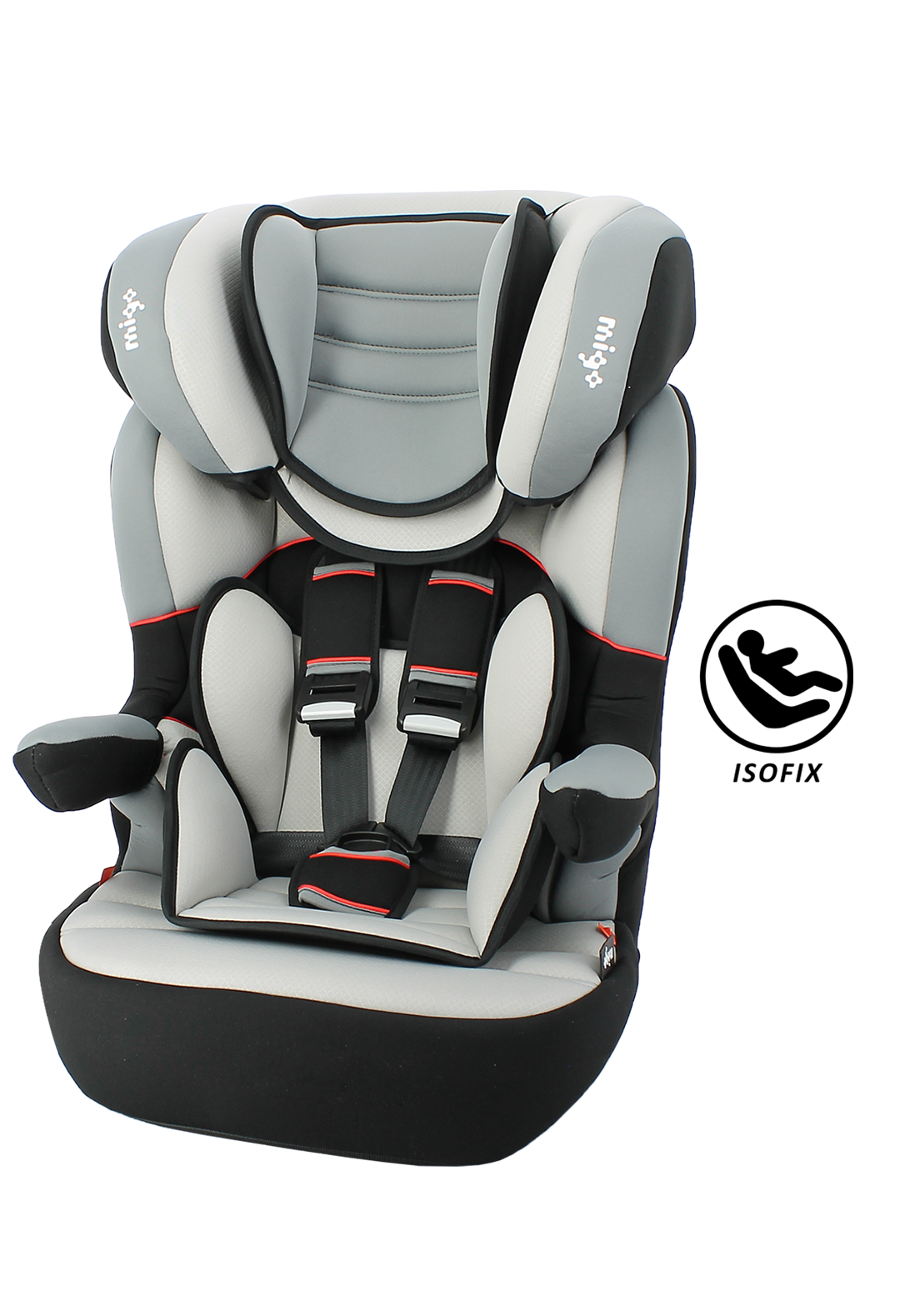 si ge auto rehausseur isofix myla grp 1 2 3 neoshop by migo. Black Bedroom Furniture Sets. Home Design Ideas