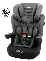 CASUAL TEKO ISOFIX BLACK