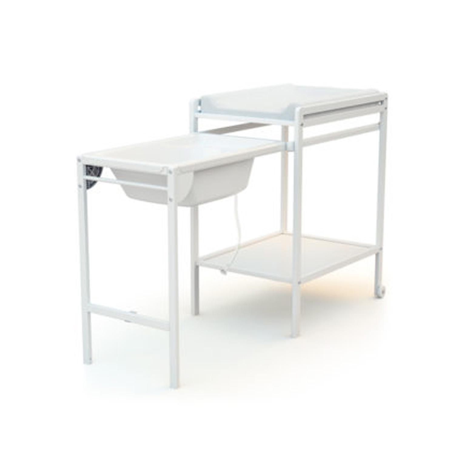 Table A Langer En Bois Avec Baignoire Essentiel Babyneoshop By Migo